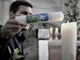 zakup świecy do chrztu