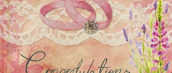 kartka z życzeniami na ślub
